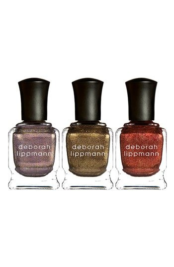 "Deborah Lippmann's ""Rock This Town"" nail polish trio ($42) would be perfect for keeping my nails glittery and festive this holiday season. — Tara Block, assistant editor"