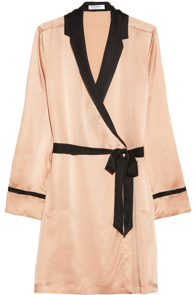 I love getting ready in the morning wearing a robe, and this Equipment silk robe ($345) would take it to the next level of luxury. — Annie Scudder, editor