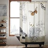 I'd love this sweet butterfly shower curtain ($40) to hang in my bathroom. — Annie Scudder, editor