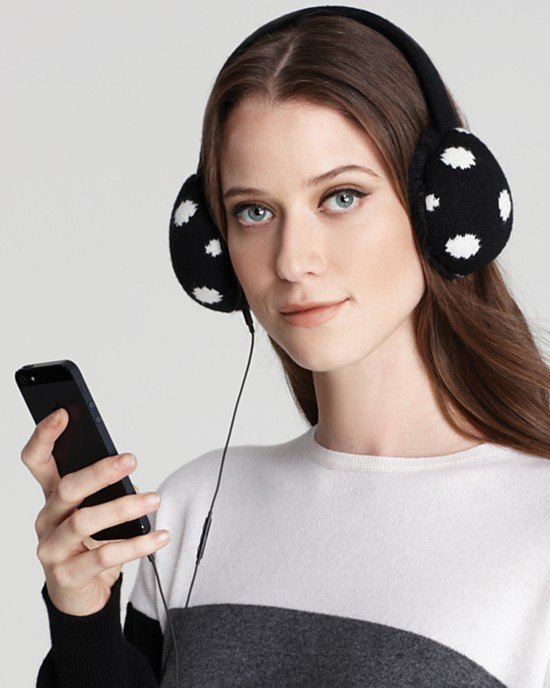 I would probably wear these Kate Spade earmuff headphones ($88) on my morning commute and in the office when it gets chilly. — Annie Scudder, editor