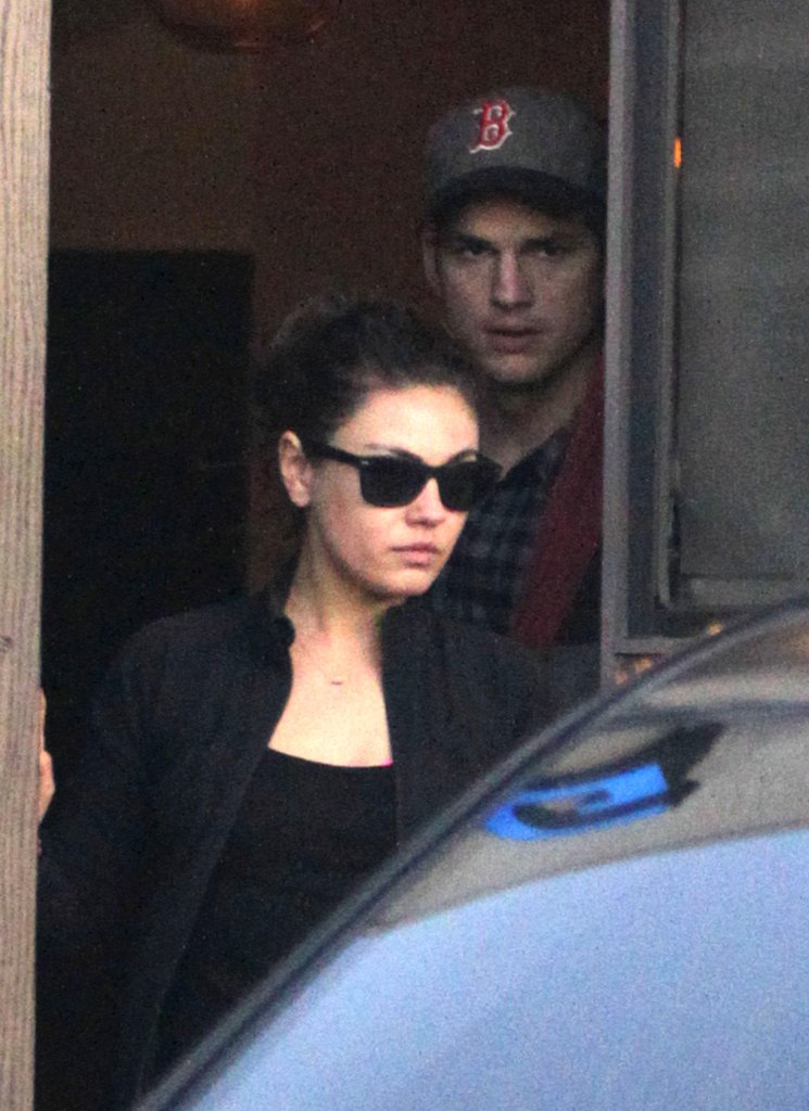 Ashton Kutcher and Mila Kunis left Sugarfish.