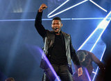 Usher performed at the American Music Awards in LA.