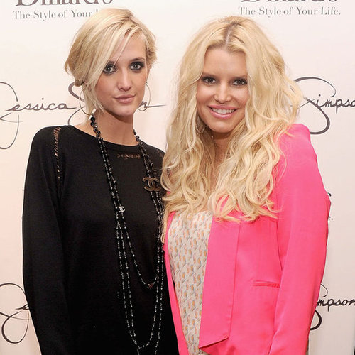 Jessica and Ashlee Simpson Show Their Collection in Florida