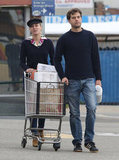 Joshua Jackson and Diane Kruger Stock Up on Holiday Baking Supplies