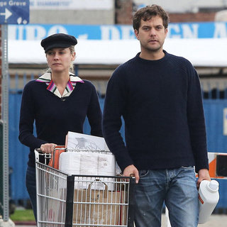 Diane Kruger and Joshua Jackson at Whole Foods | Pictures