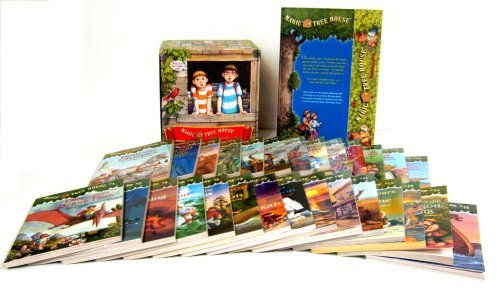 For 6-Year-Olds: Magic Tree House Boxed Set