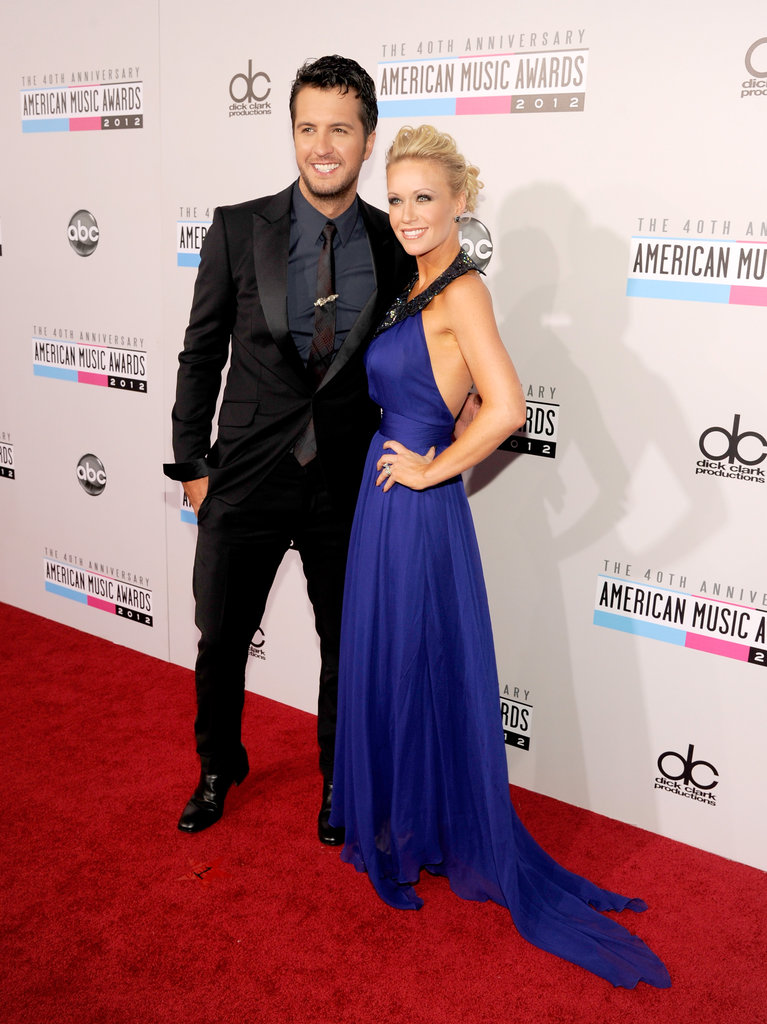 Luke Bryan and Caroline Boyer