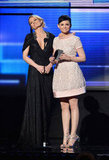 Once Upon a Time costars Jennifer Morrison and Ginnifer Goodwin made a joint appearance on stage.