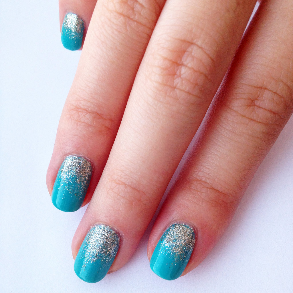 Nail Art Ombre Blue The Best Inspiration For Design And Color Of