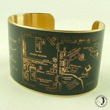 Brass Cuff Bracelet ($40)