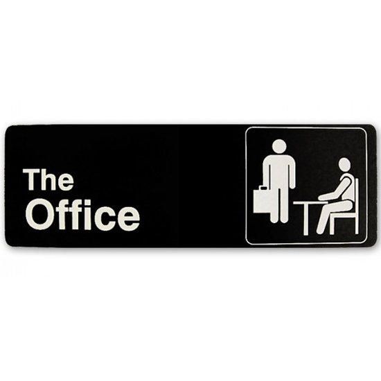 The Office Sign ($12)