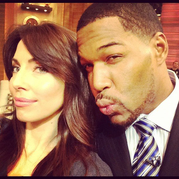 "Whitney Cummings declared Michael Strahan to be her ""spirit animal."" Source: Instagram user therealwhitney"