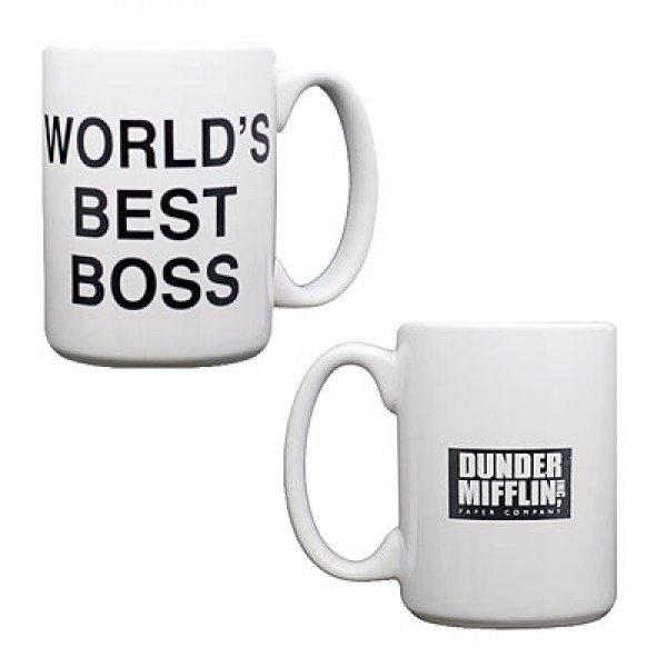 World's Best Boss Mug ($12)
