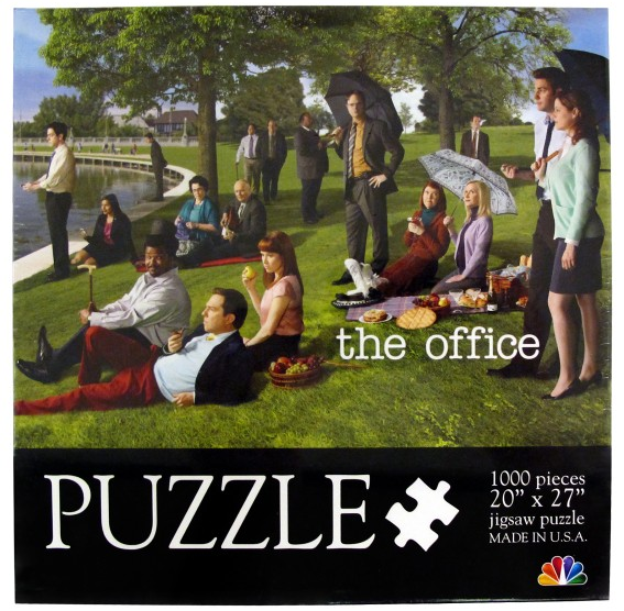 The Office 1,000-Piece Puzzle ($20)