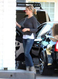 Cameron Diaz Wraps Up Her Weekend on the West Coast