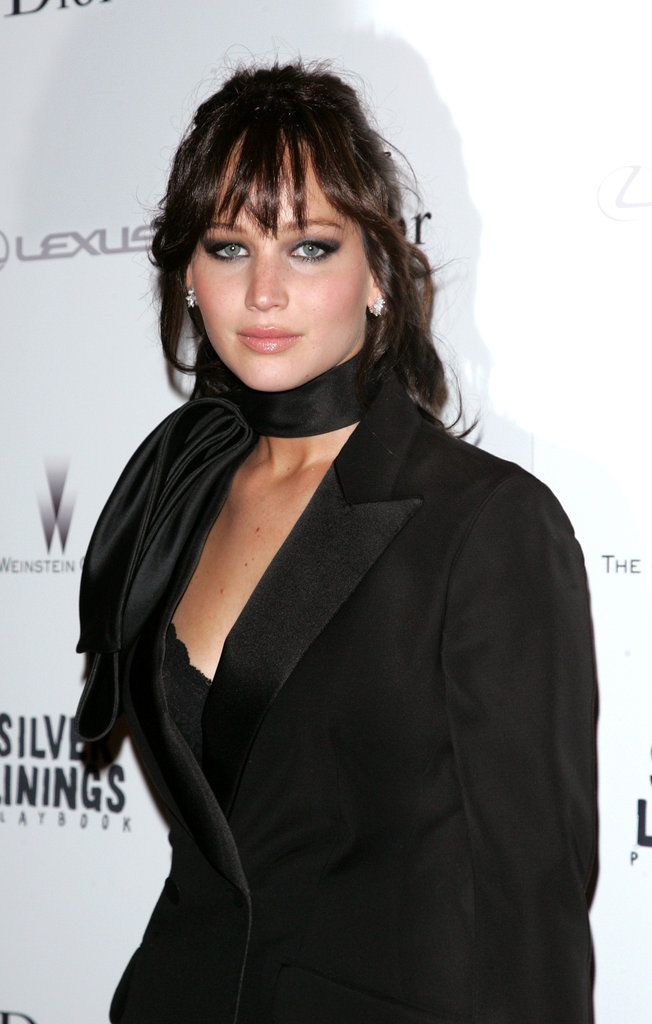 Jennifer Lawrence attended the NYC screening of Silver Linings Playbook.