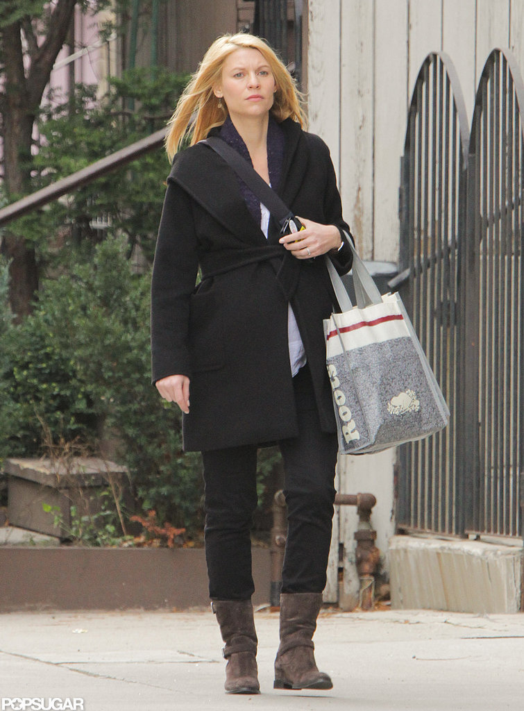 Claire Danes spent a day shopping in Toronto.