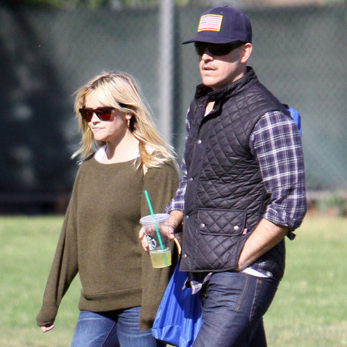 Reese Witherspoon and Ryan Phillippe at Soccer With Deacon