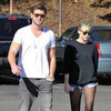 Miley Cyrus and Liam Hemsworth Get Coffee in LA | Pictures