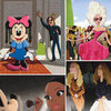 Barneys and Disney Electric Holiday Cartoon