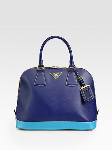Prada - Saffiano Lux Bi-Color Bugati Bag