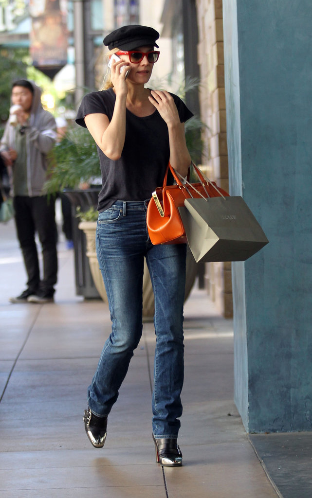 Diane Kruger stepped out in LA.