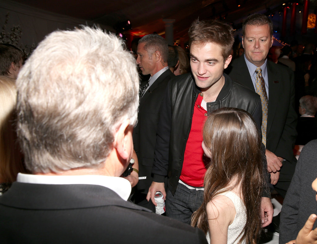 Robert and Kristen Go Casual For Fun Breaking Dawn Afterparty