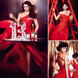Penélope Cruz Tempts Fate For Campari's Red-Hot 2013 Calendar