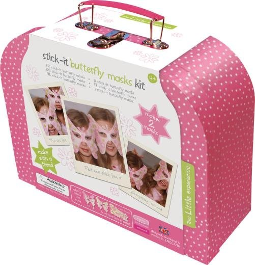 The Little Experience Stick-It Butterfly Masks Kit
