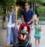 Jessica Alba and Haven Warren: Babystyle Oyster Stroller