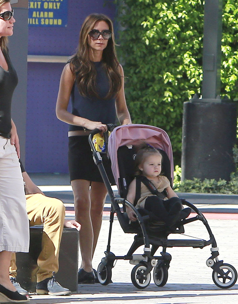 Victoria Beckham and Harper: Bugaboo Bee