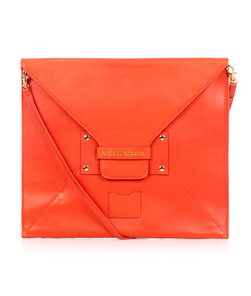 Fashion Laptop Sleeve in Vermillion Red, $450