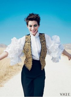 Anne Hathaway Vogue December Cover