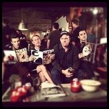Mike O'Malley struggled to bond with his Glee costars and director Adam Shankman. Source: Instagram user adamshankman
