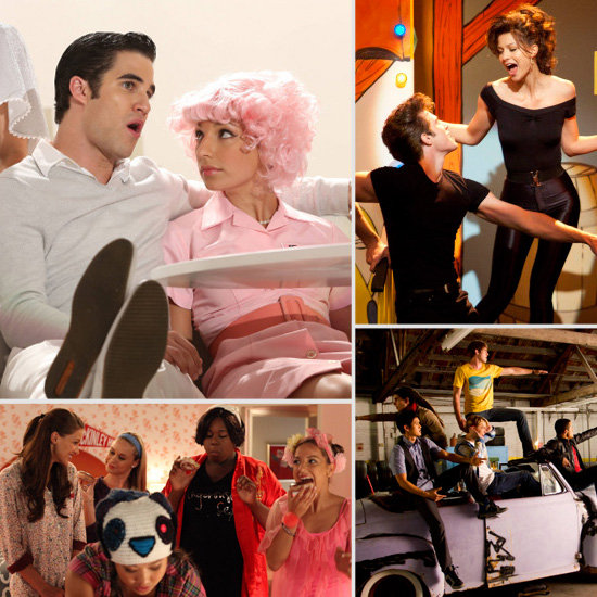 Glee Goes Greased Lightning: See All the Photos!