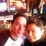 Channing Tatum and Jenna Dewan hung out together at a sports bar. Source: Instagram user jennaldewan