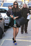Miranda Kerr carried her son, Flynn, while out in NYC.
