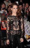 Kristen Shows Skin at Twilight's UK Premiere With Rob