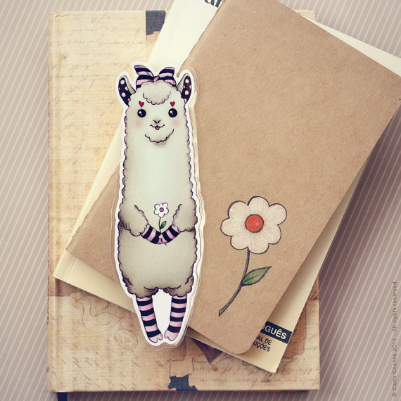 Alpaca Bookmark