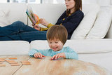 Five Lazy Games to Play With Your Tots