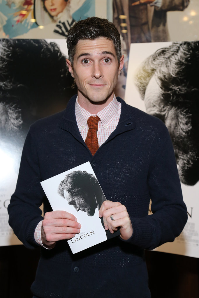 Dave Annable was on hand for a screening of Lincoln in NYC.