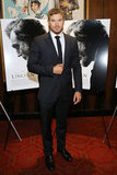 Kellan Lutz wore a suit.