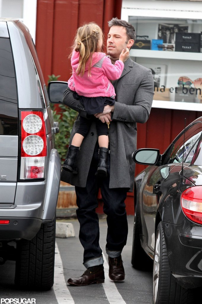 Ben Affleck and Seraphina Affleck spent the morning together in LA.