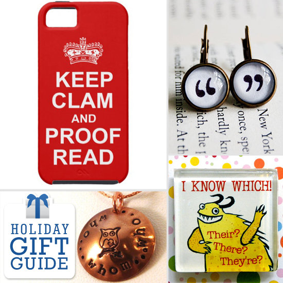 Holiday Gifts Any Grammar Girl Will Appreciate