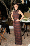 Rachel Bilson donned an A.L.C maxi at the ShoeMint one-year anniversary party in LA.