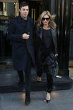 Kate Moss worked all black like a pro while out in London.