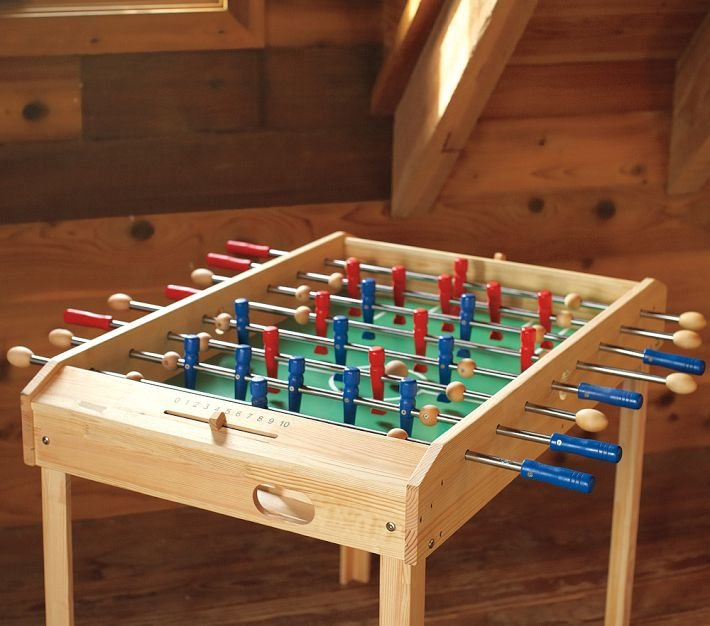For 5-Year-Olds: Foosball Table