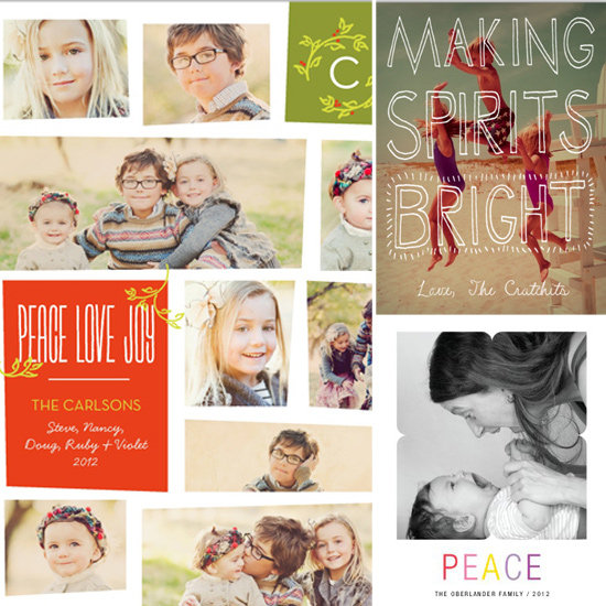 Worth a Thousand Words: Our Favorite Holiday Photo Cards