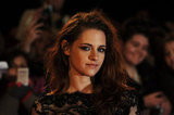 Kristen Stewart Rocks Big Lashes in London for Breaking Dawn Part 2