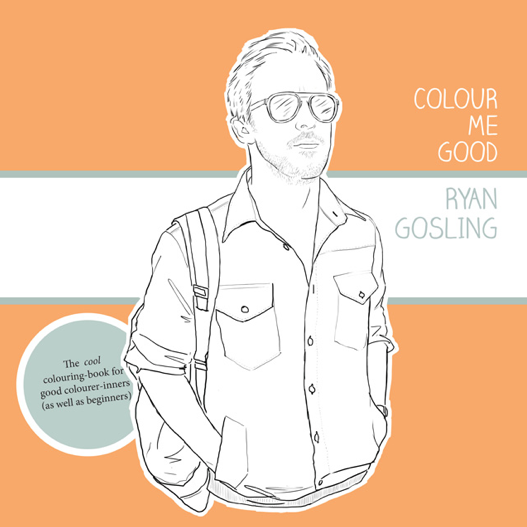 Colour Me Good Coloring Book ($13)